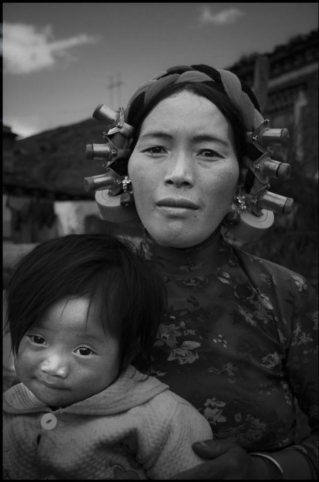 Moeder en kind Manigango