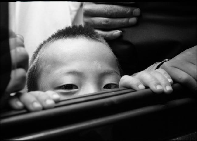 Nieuwsgierig kind