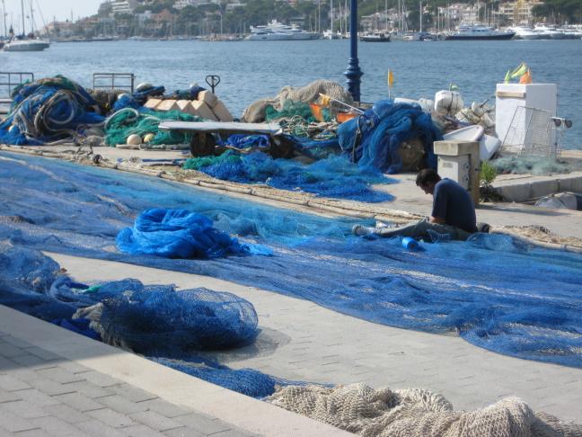 Turquoise netten