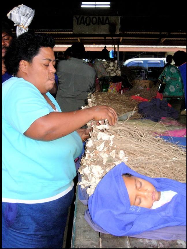 Turquoise op Markt