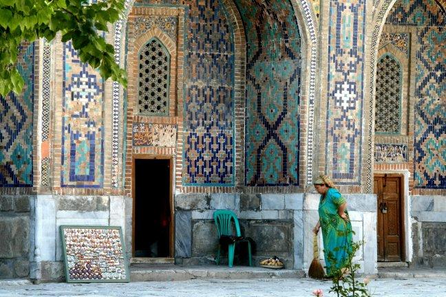 turkois in Samarkand