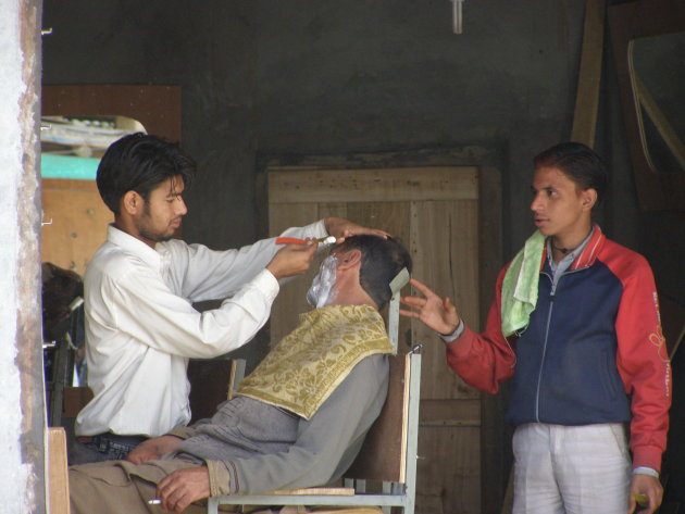 kapper in Kargil
