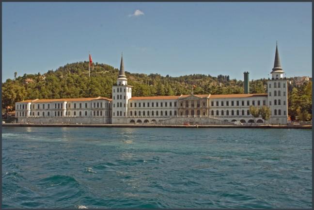Aan de kant van de Bosporus