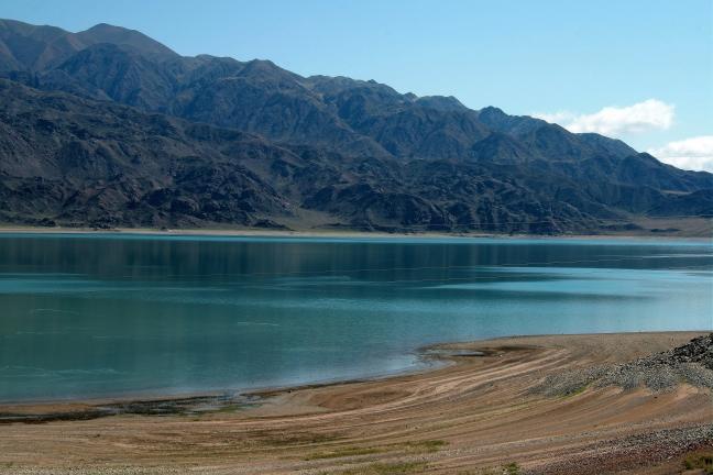 turkois water