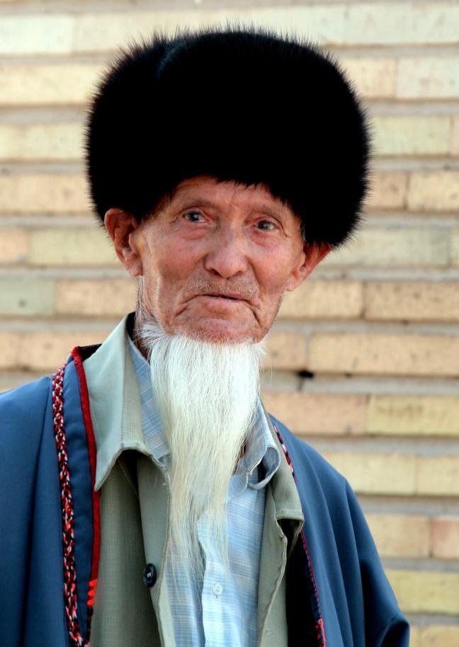 zilvergrijs in Turkmenistan