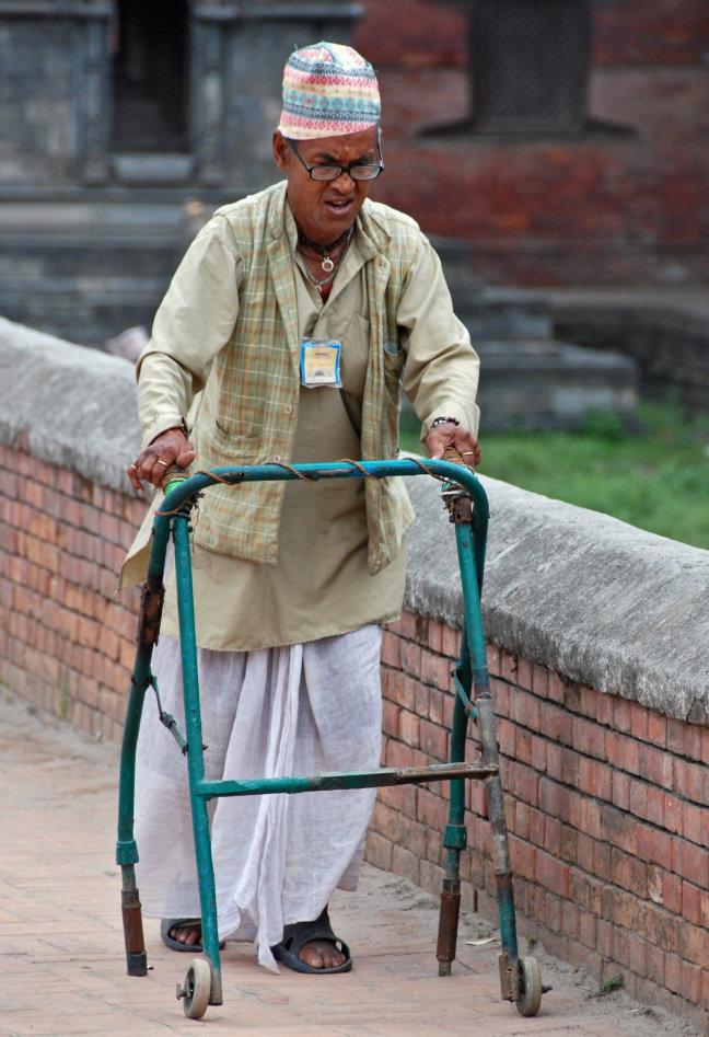 Nepalese rollator