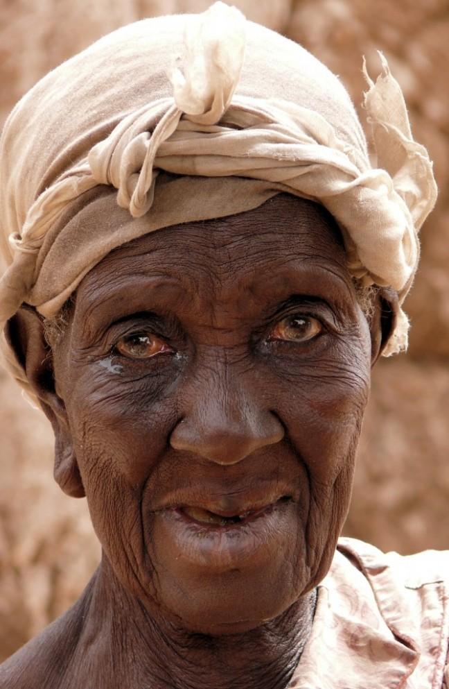 Portret Bobo-vrouw