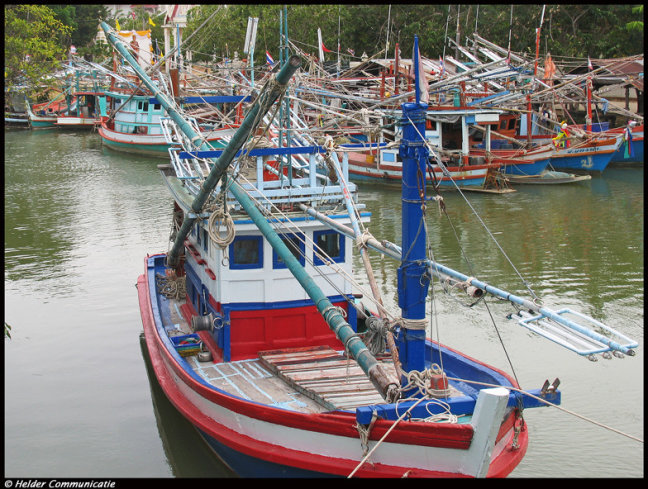 RWB vissersboot