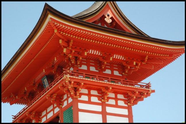 Poort in Kyoto
