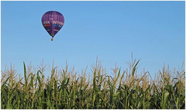 Luchtballon boven Stroe