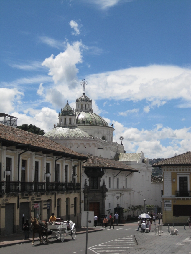 Kerk in Quito