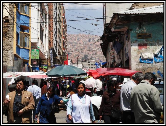 Straatbeeld La Paz