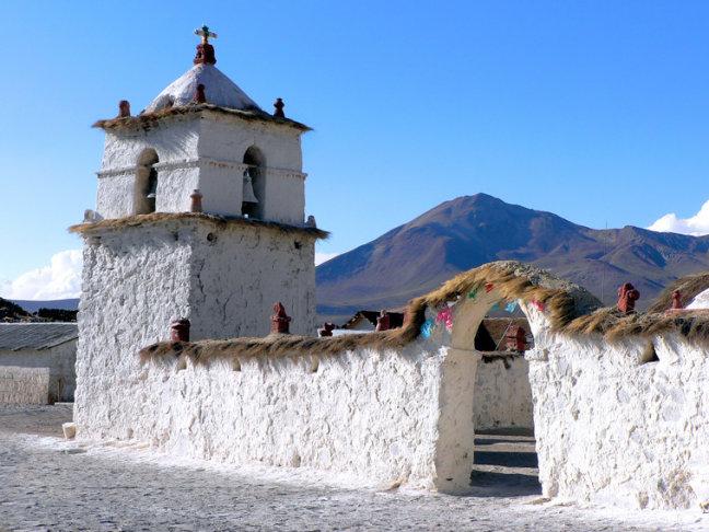 kerkje in Parinacota