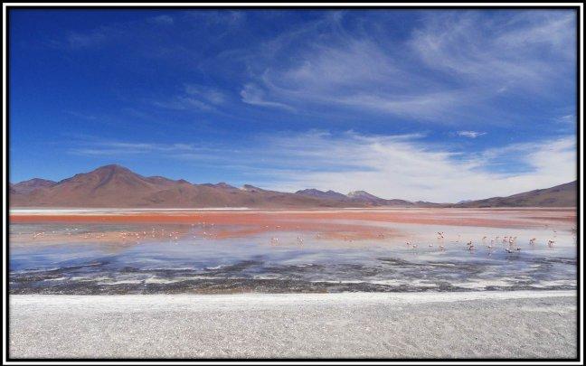 Laguna Colorado, Ciello Azul