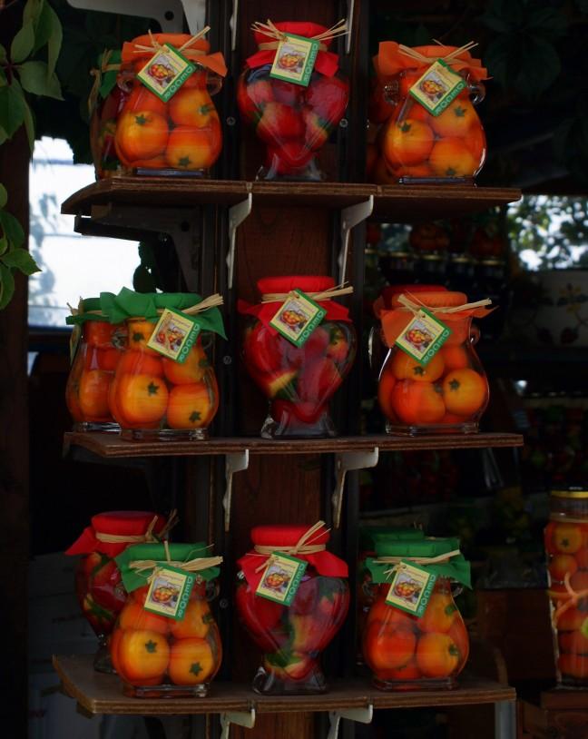 Fruit op siroop