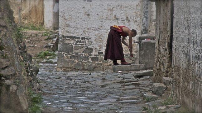 wassende monnik