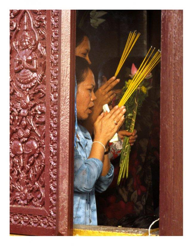 Prayers through the window