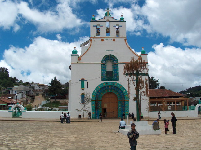 kerkje in Guatamala