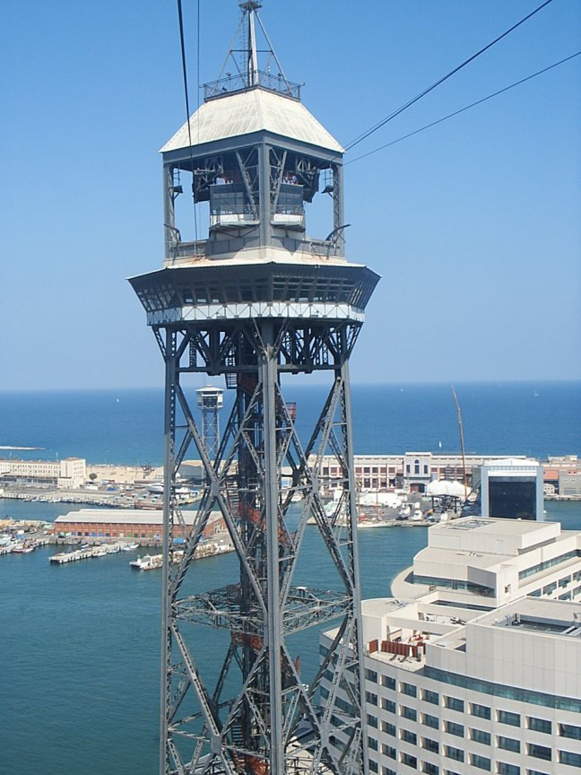 Seilbahn, Torre Jaume I