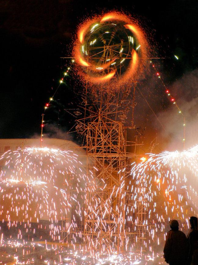 vuurwerk in Arequipa