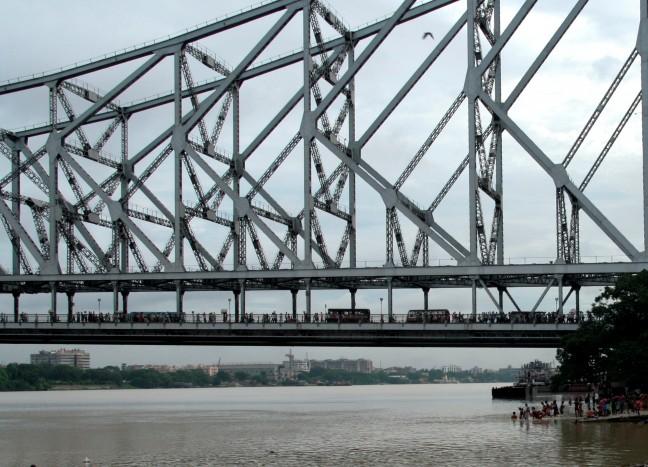 Howrahbrug in Calcutta