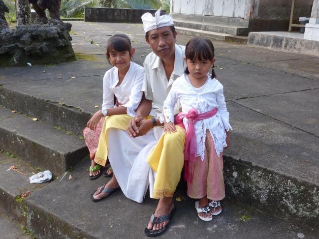 Ceremonie in tempel