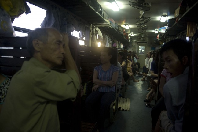 De nachttrein van Hue naar Ninh binh