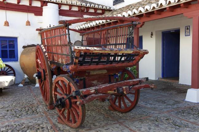 Herberg waar don Quichotte tot ridder werd geslagen