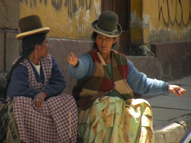 Typical Andes people