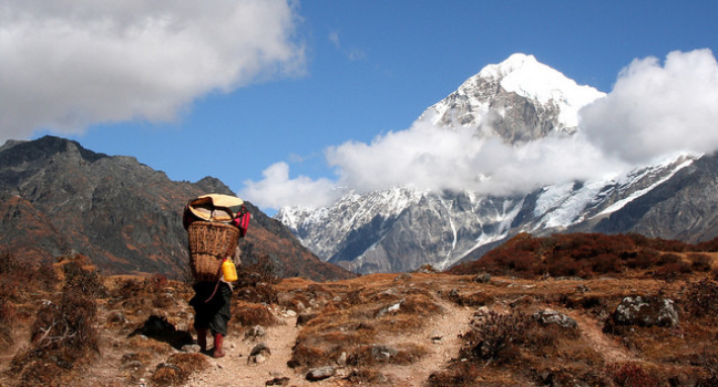Goechi la trek, Sikkim