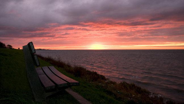 Vlieland bij zonsopkomst