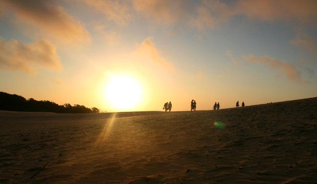 Rainbow Beach, Australie