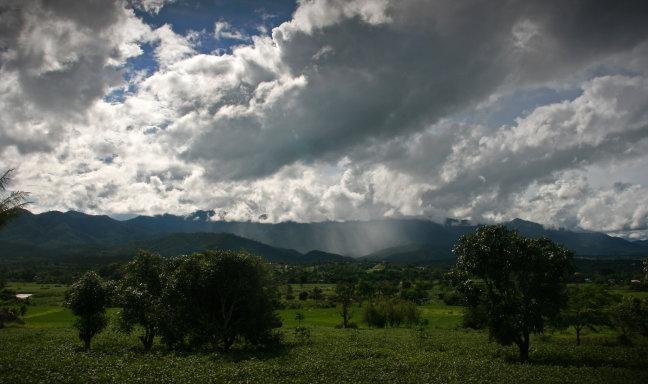 Rondrit door de bergen vanuit Chiang Mai