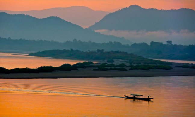 Ochtend aan de Mekong