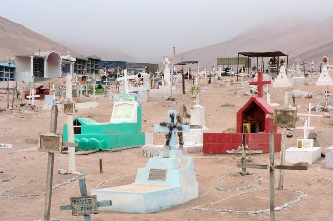 kerkhof van Poconchile