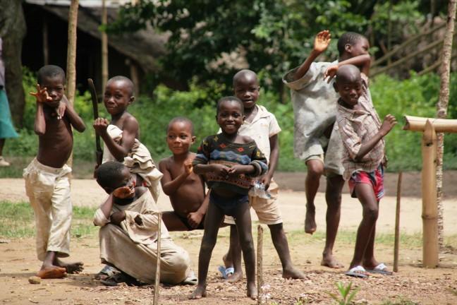 Kinderen in Ivoorkust