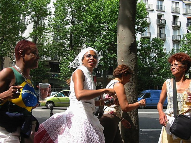 Braziliaans feestje in Paris.