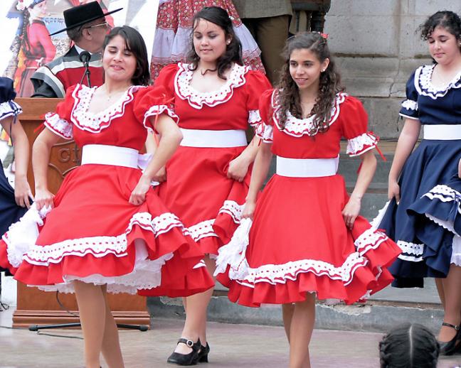 Feest in Arica