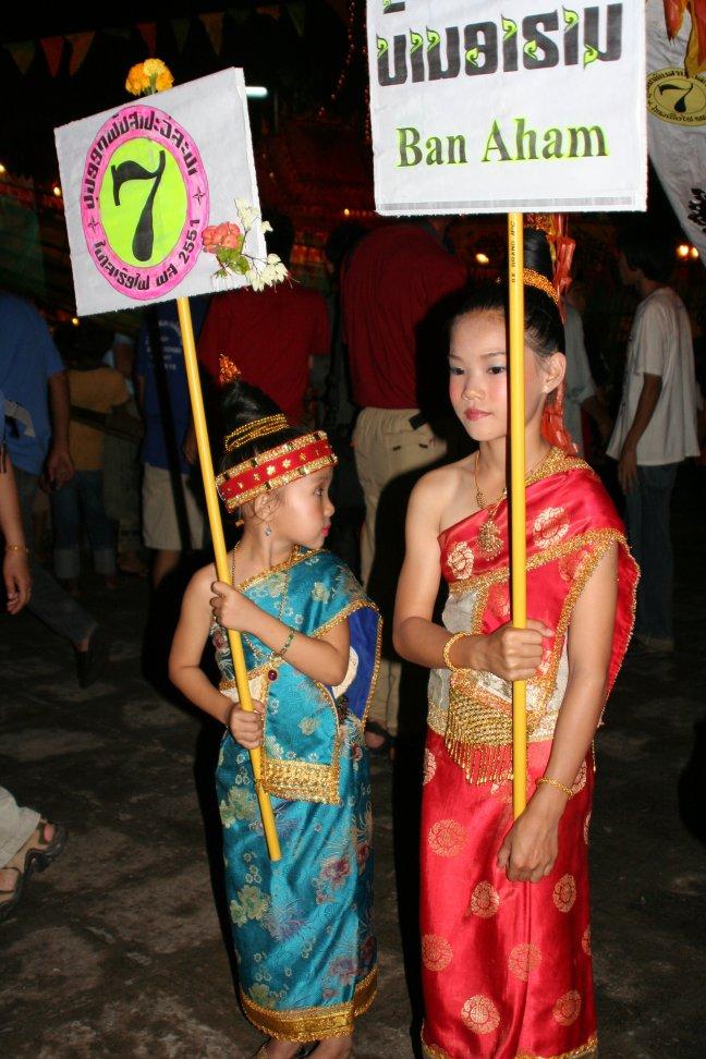 Festival of Lights, Lai Heua Fai in Luang Prabang