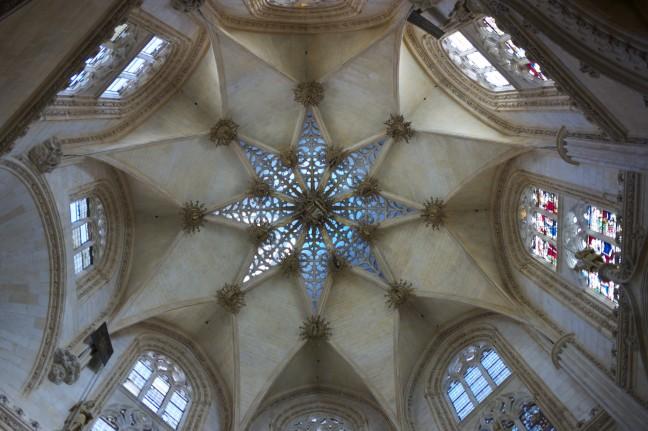 Plafond van de kathedraal van Burgos