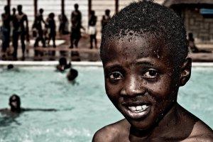 Zwembad in Soweto