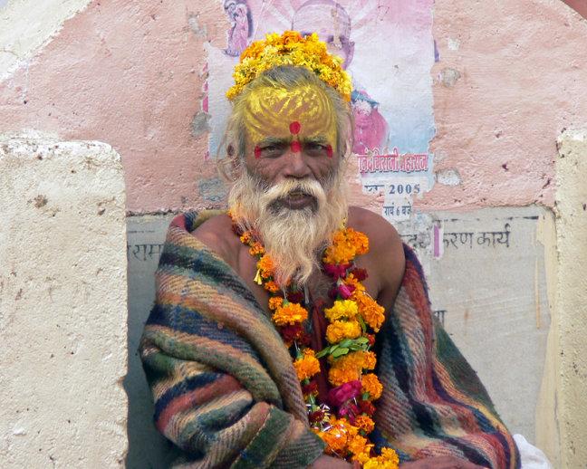 Sadhu in Orccha