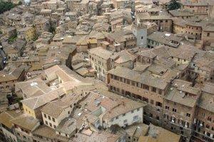 De daken van Siena