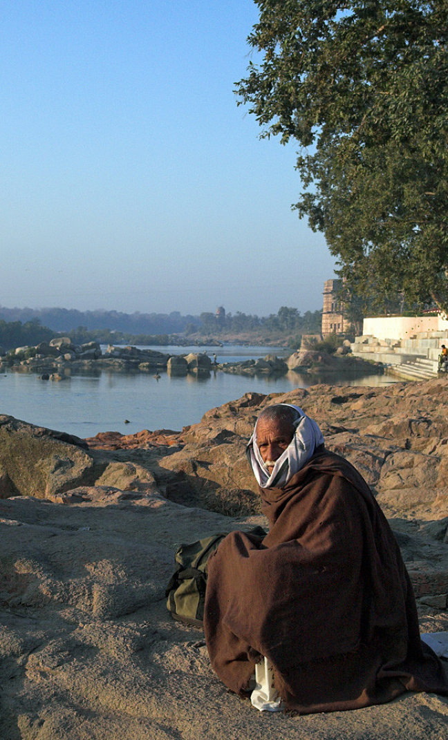 Cold in Orchha