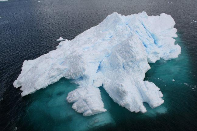 Het ijs is nooit ver weg op Antarctica