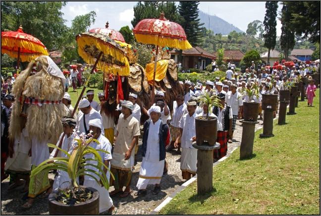 Feest in de tempel