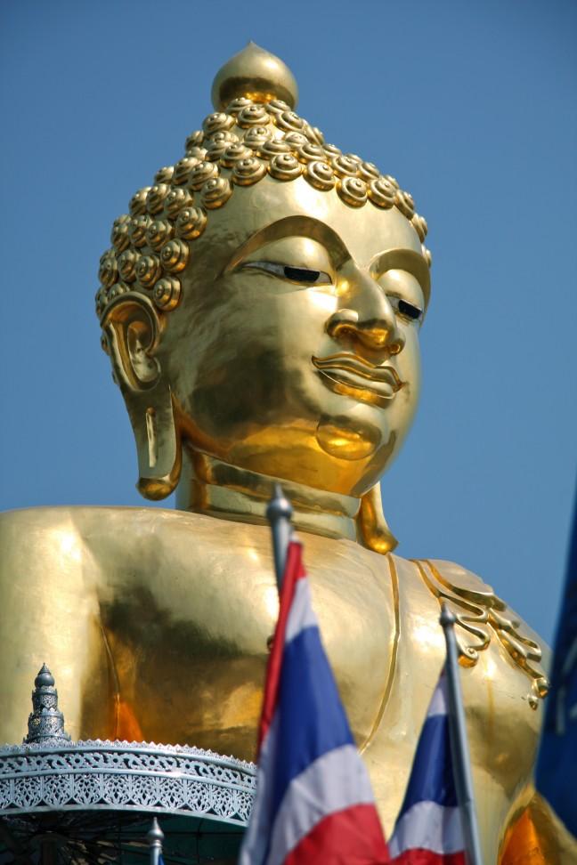 Boeddha bij de Gouden Driehoek