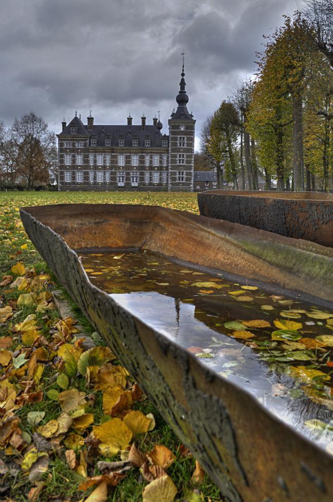 Herfst bij het kasteel