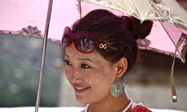 Tibetaanse schoonheid