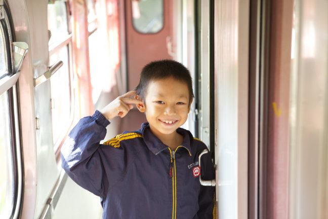 trein naar laos